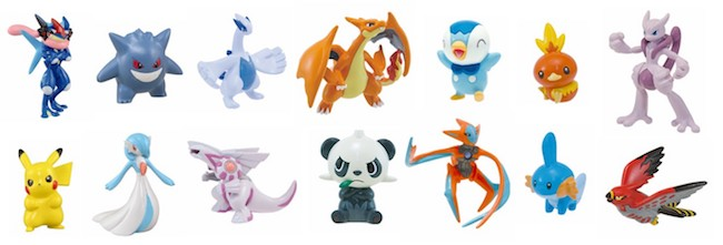 Pokemon Gashapon Figures: Pokemon Get Collections Candy Figures