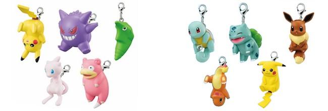 Pokemon Key Chains: Pokemon Sun & Moon Tsumande Tsunagete Mascot Key Chains