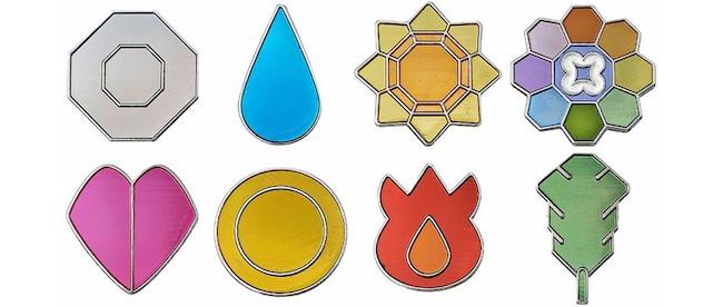 Other Fun Pokemon Gashapon: Pokemon Kanto Gym Badges