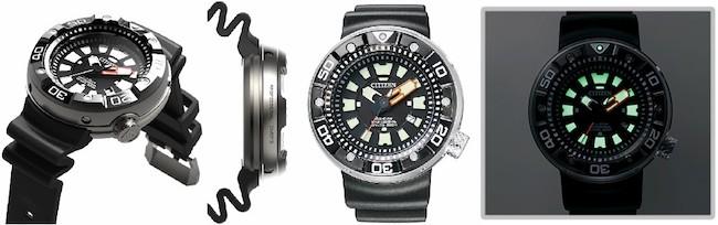 ProMaster Eco-Drive Professional 300m Diver