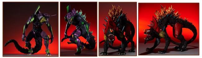 Bandai – Toho 30cm Series: Godzilla vs. Evangelion Figures