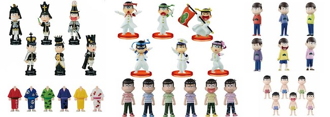 Osomatsu-san World Collectible Figures