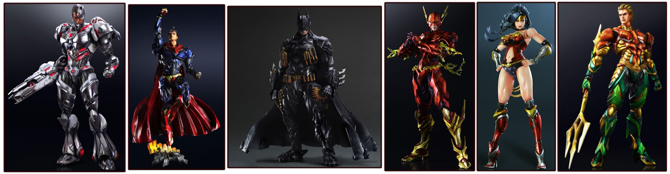 Square Enix – Variant Play Arts Kai: DC Universe Figures