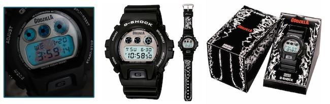 G-Shock x Godzilla DW-6900 Watch