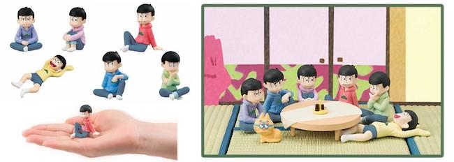 Osomatsu-san Palmate Mini Figures