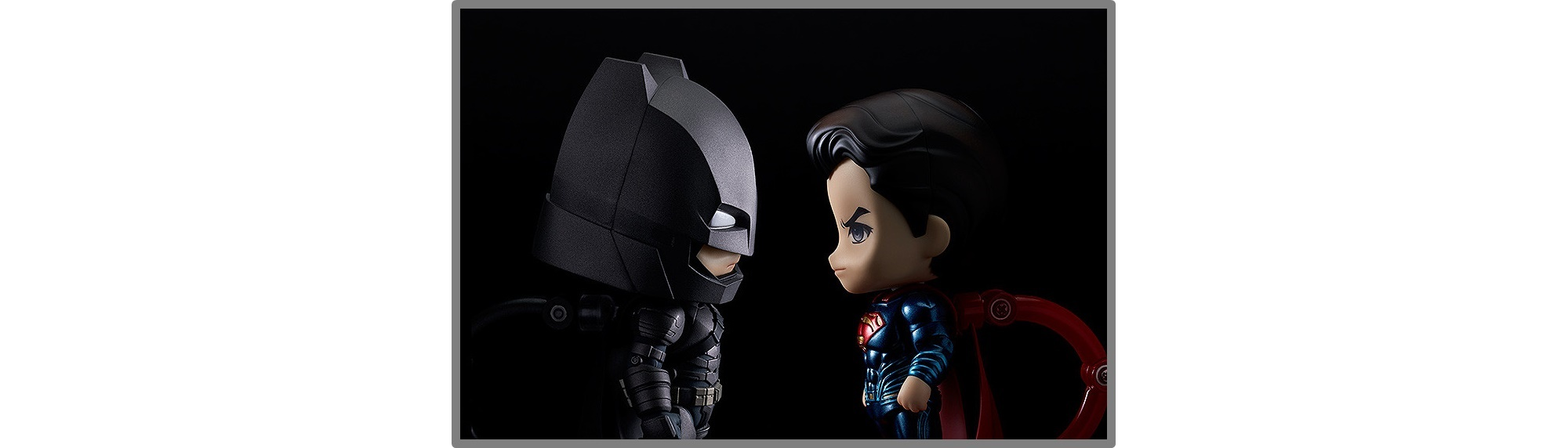 Good Smile Company – Nendoroid: Batman & Superman Figures