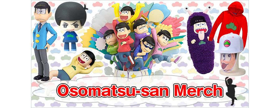 Osomatsu-san Merch Fit for a Family Reunion