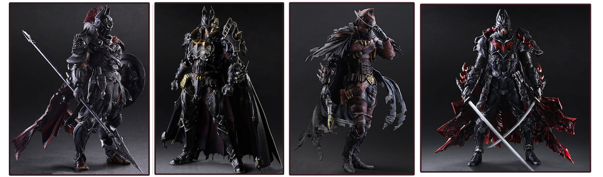 "Square Enix – Variant Play Arts Kai: ""Timeless"" Batman Figures"