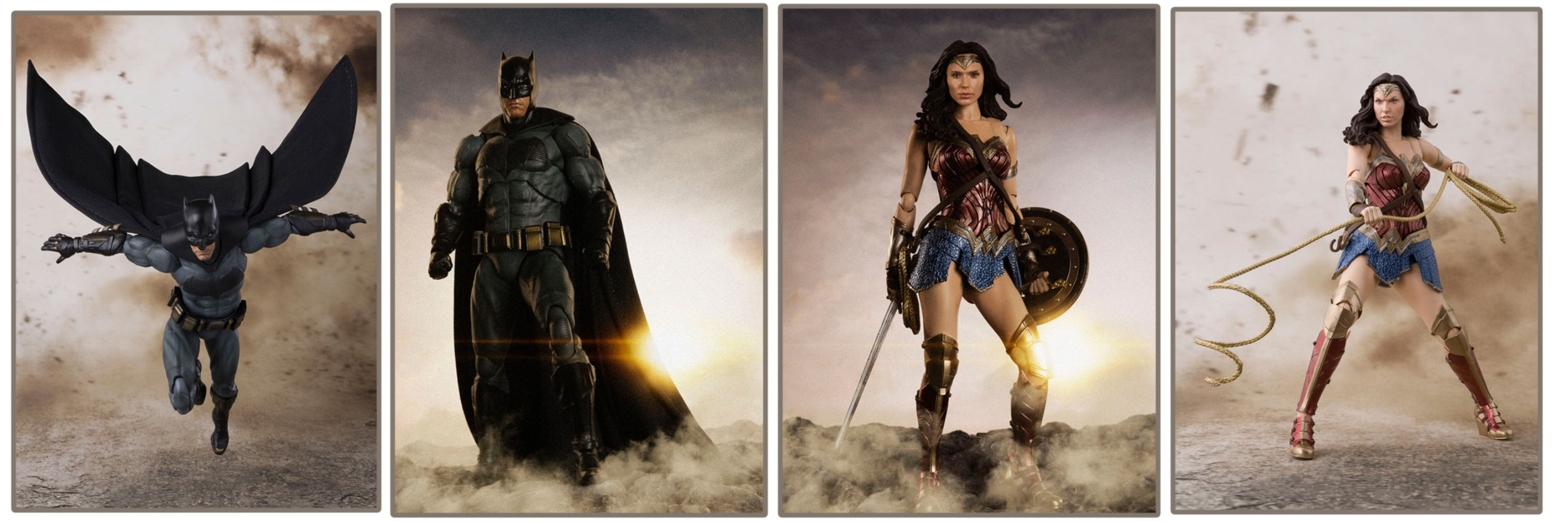 Bandai – S.H. Figuarts: Justice League Movie Figures