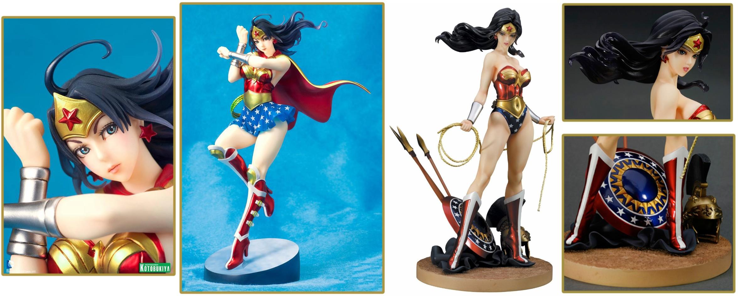 Kotobukiya – DC Comics Bishoujo: Wonder Woman Statues