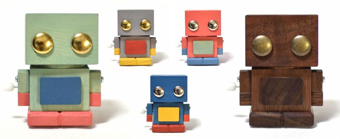 Wooden Buriki Robot