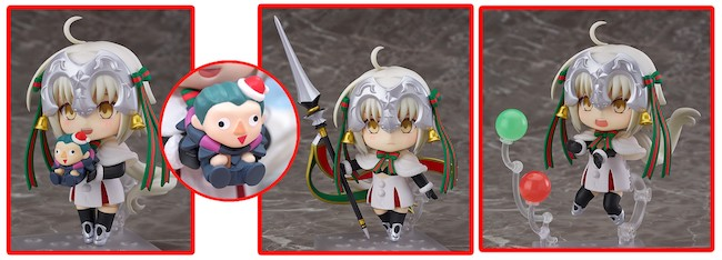 Good Smile Company – Nendoroid: Fate/Grand Order Jeanne d'Arc Alter Santa Lily Figure