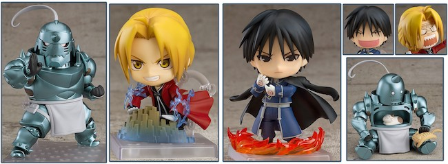 Fullmetal Alchemist Figures: Good Smile Company – Nendoroid: Fullmetal Alchemist Figures