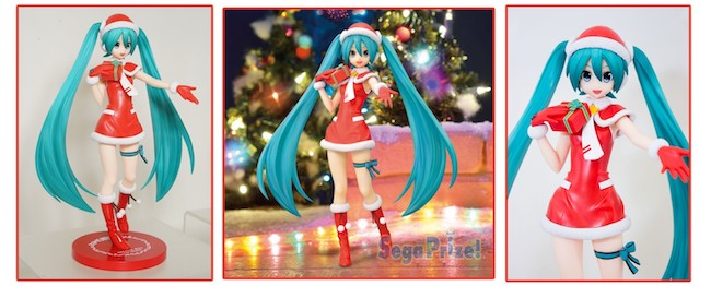 SEGA – Project DIVA F 2nd: Hatsune Miku Christmas SPM Figure