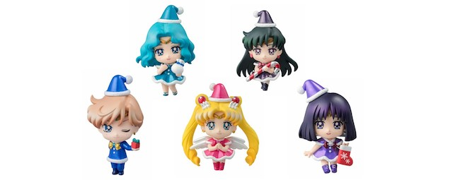 MegaHouse – Petit Chara! Series: Sailor Moon Christmas Special Ver. Figures