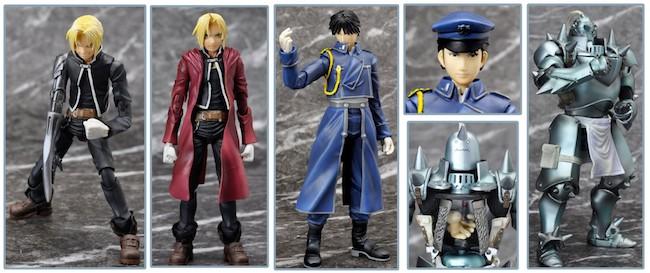 Fullmetal Alchemist Figures: Square Enix – Play Arts Kai: Fullmetal Alchemist Figures