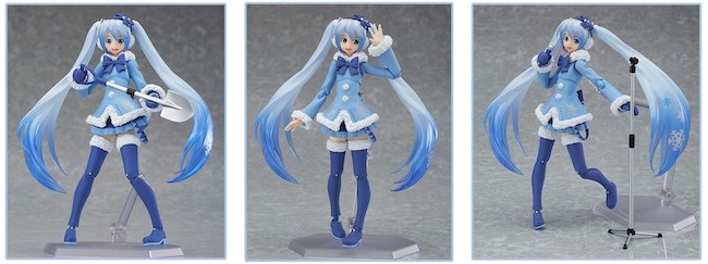 Max Factory – Figma: Snow Miku Fluffy Coat Ver. Figure