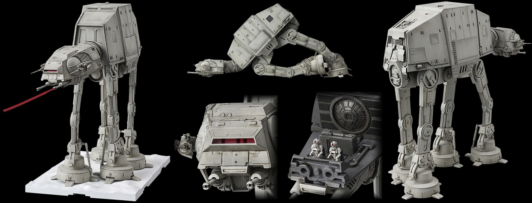 1/144-Scale All-Terrain Armored Transport (AT-AT)
