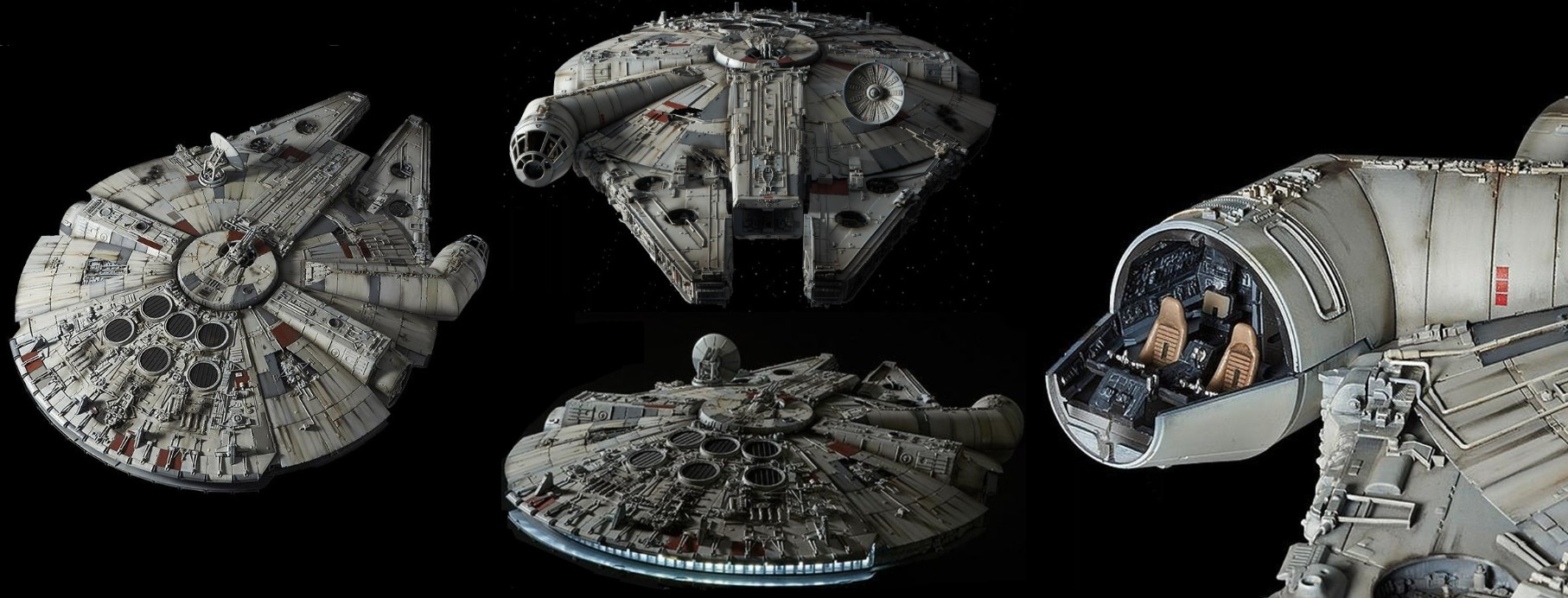 1/72-Scale Perfect Grade Millennium Falcon