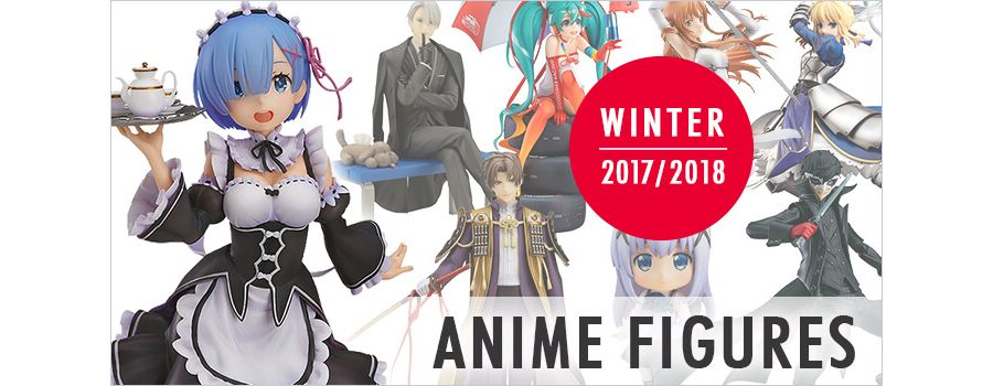 10 Popular Anime Figures to Warm Your Heart in Winter 2017/2018