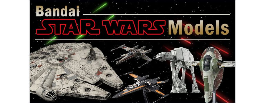 Become One with the Force with Bandai Star Wars Vehicle Models