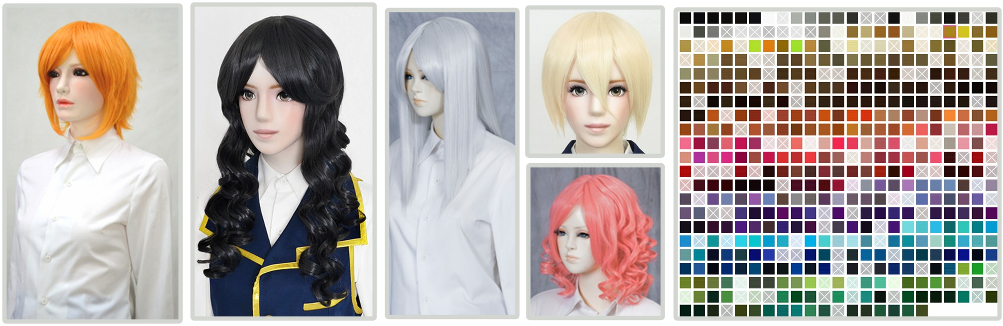 Japanese Cosplay Wig Brands: Swallowtail