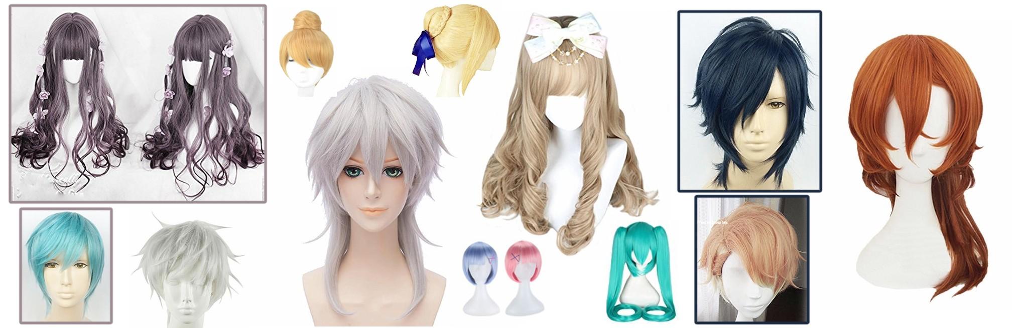 Choosing a Cosplay Wig