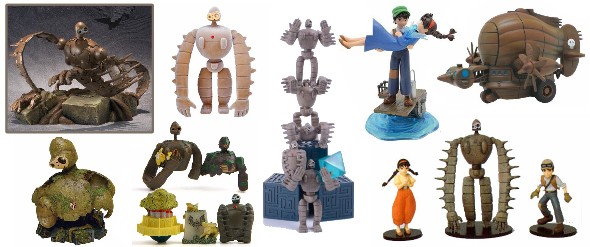 Castle in the Sky Figurines