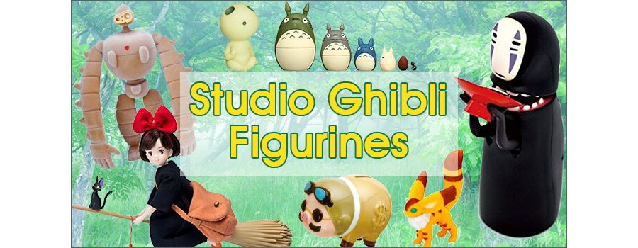 Studio Ghibli Figurines Based on the Films of Hayao Miyazaki