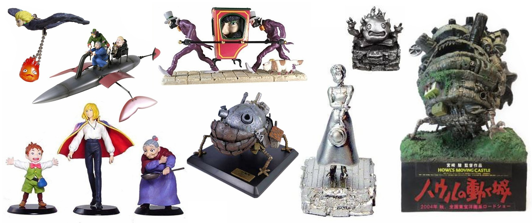 Howl's Moving Castle Figurines