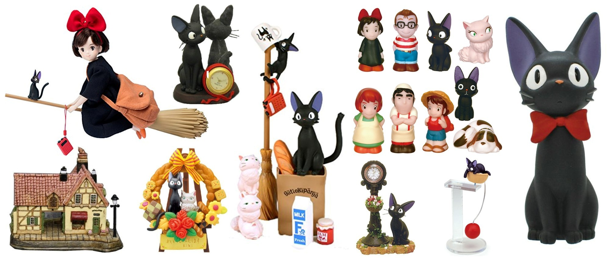 Kiki's Delivery Service Figurines