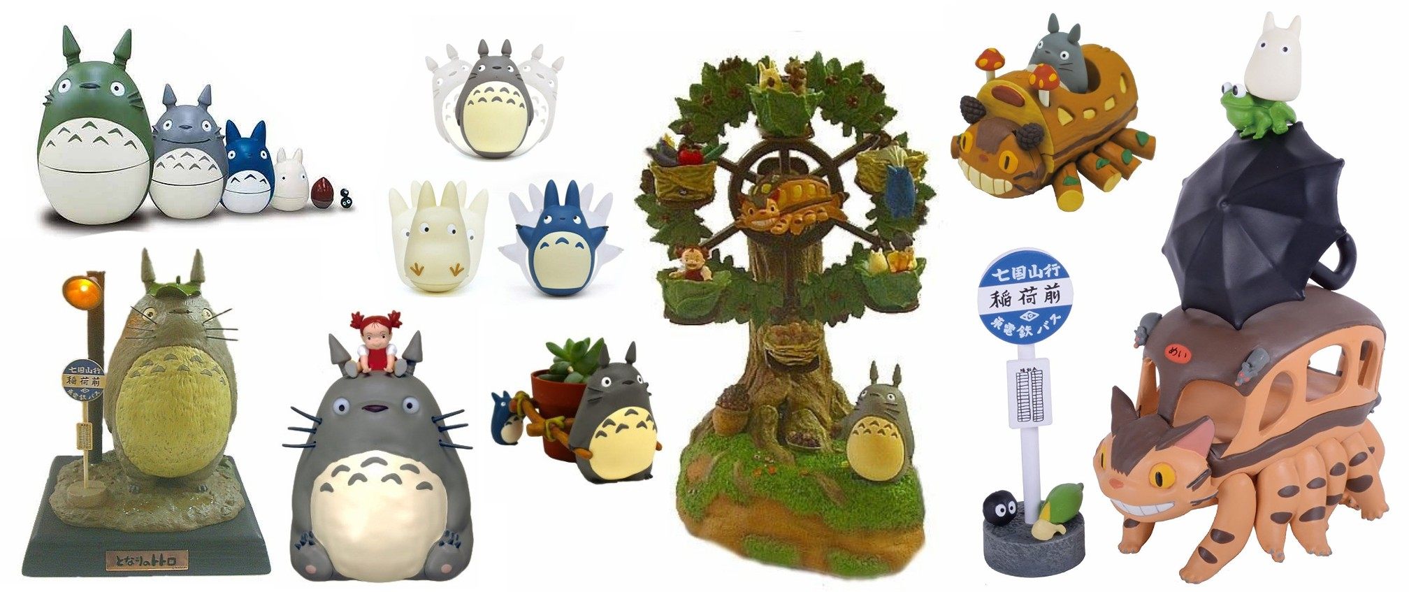 My Neighbor Totoro Figurines