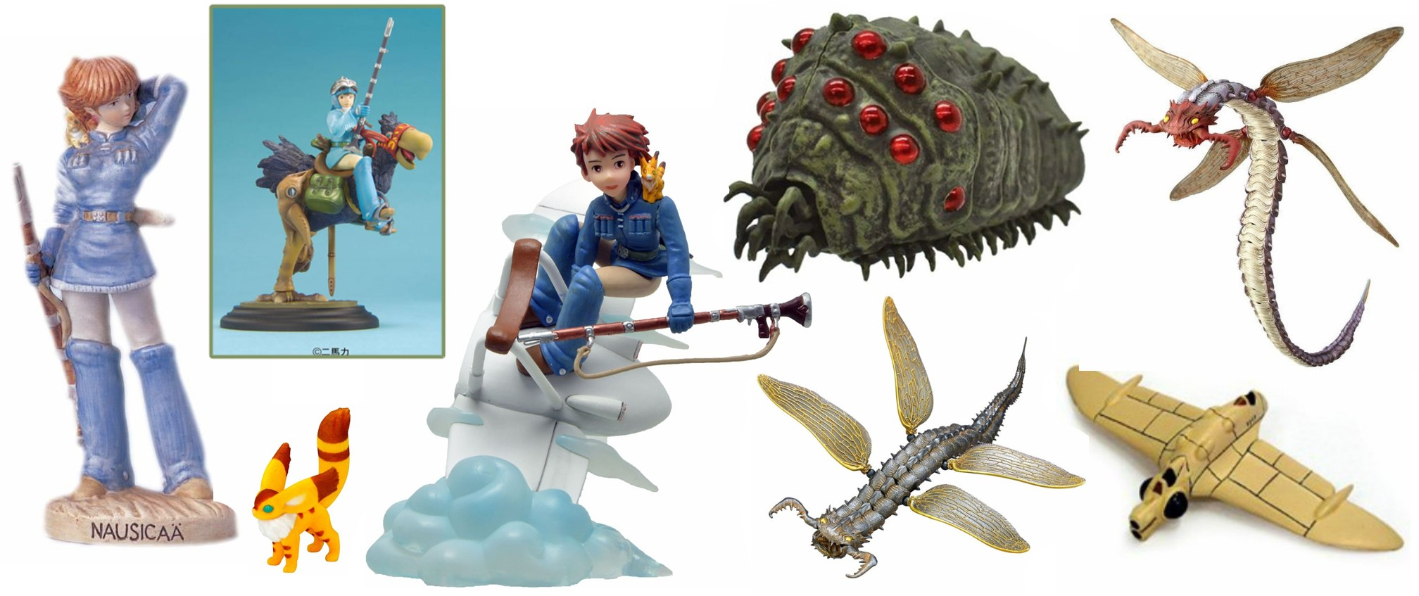 Nausicaa of the Valley of the Wind Figurines