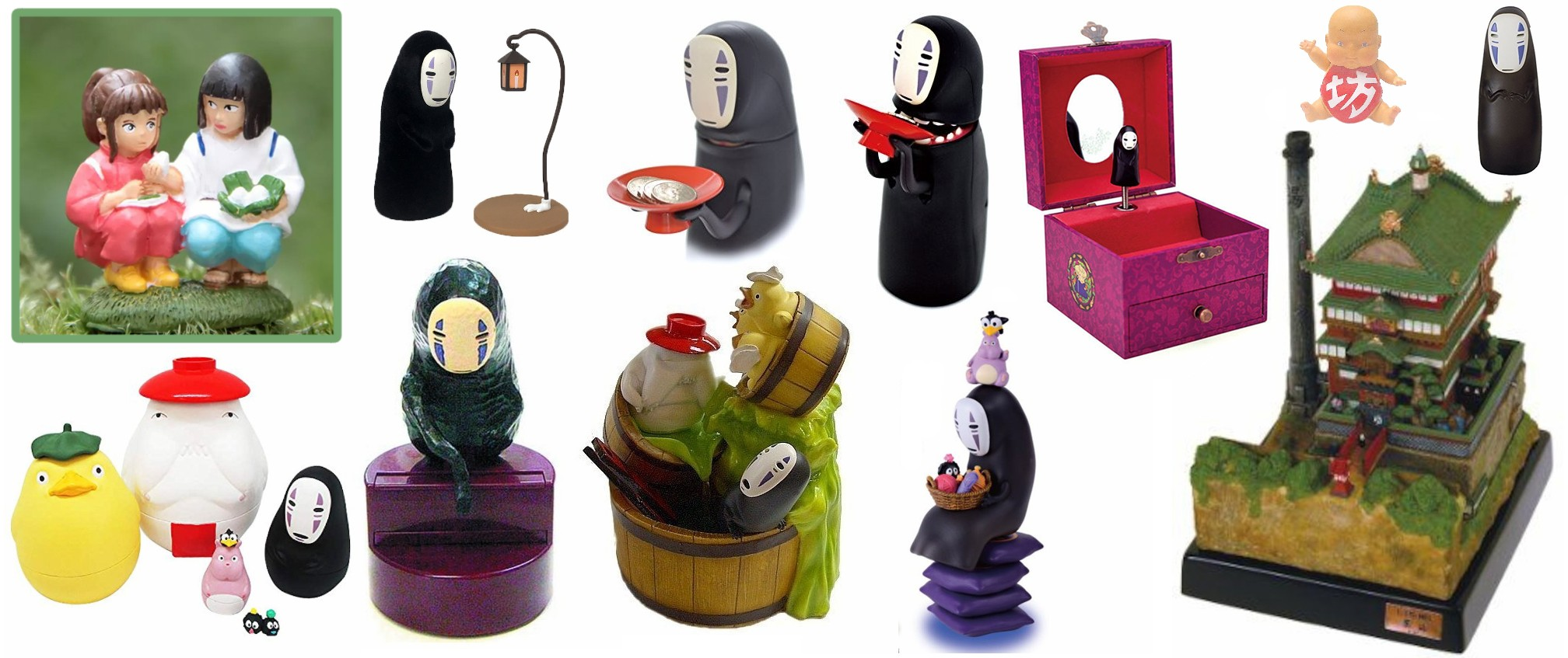 Spirited Away Figurines