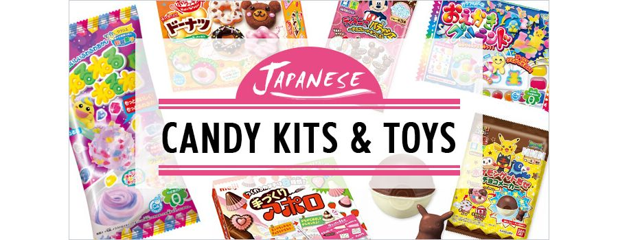 9 Japanese Candy Kits & Toys to Keep Your Kid Cookin' Up a Storm