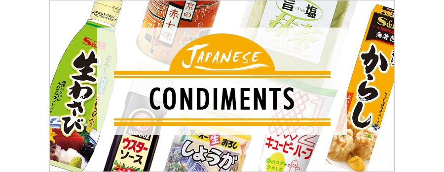 Japanese Condiments: 8 Seasonings Beyond Simple Soy Sauce