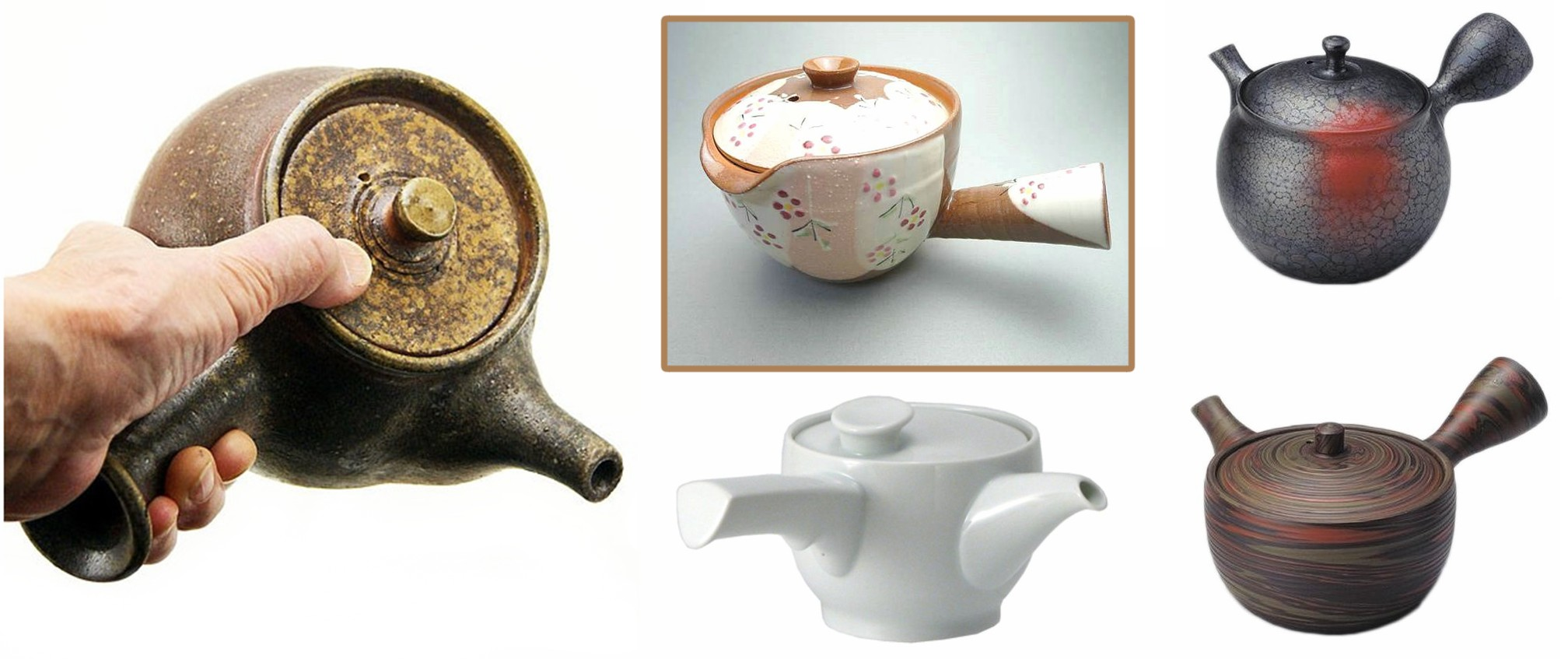 Yokode Kyusu: Japanese Side-handle Teapots