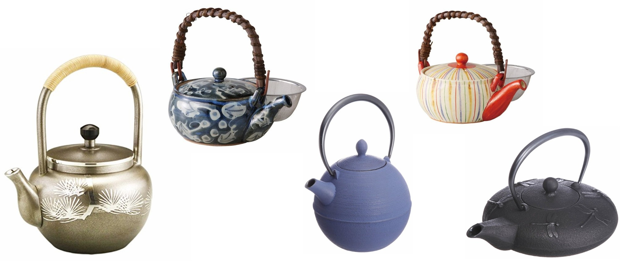 Uwade Kyusu: Japanese Top-handle Teapots
