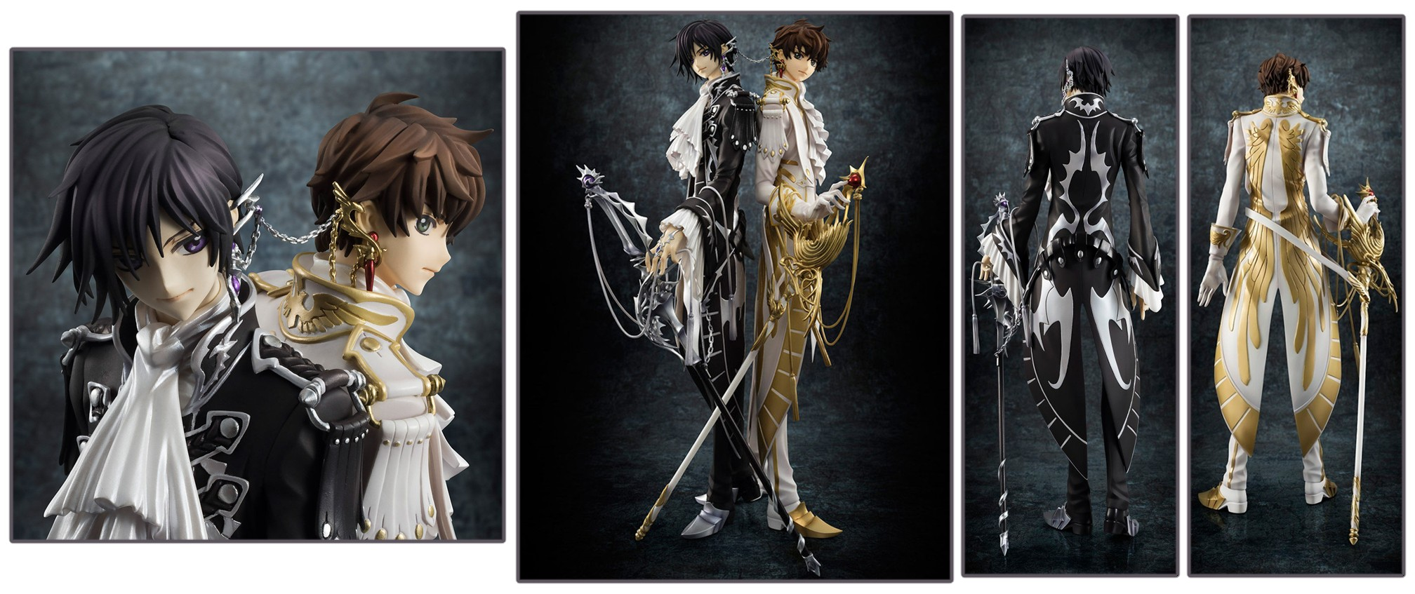 MegaHouse – G.E.M.: Code Geass 1/8-scale Lelouch & Suzaku Set (March 2018)
