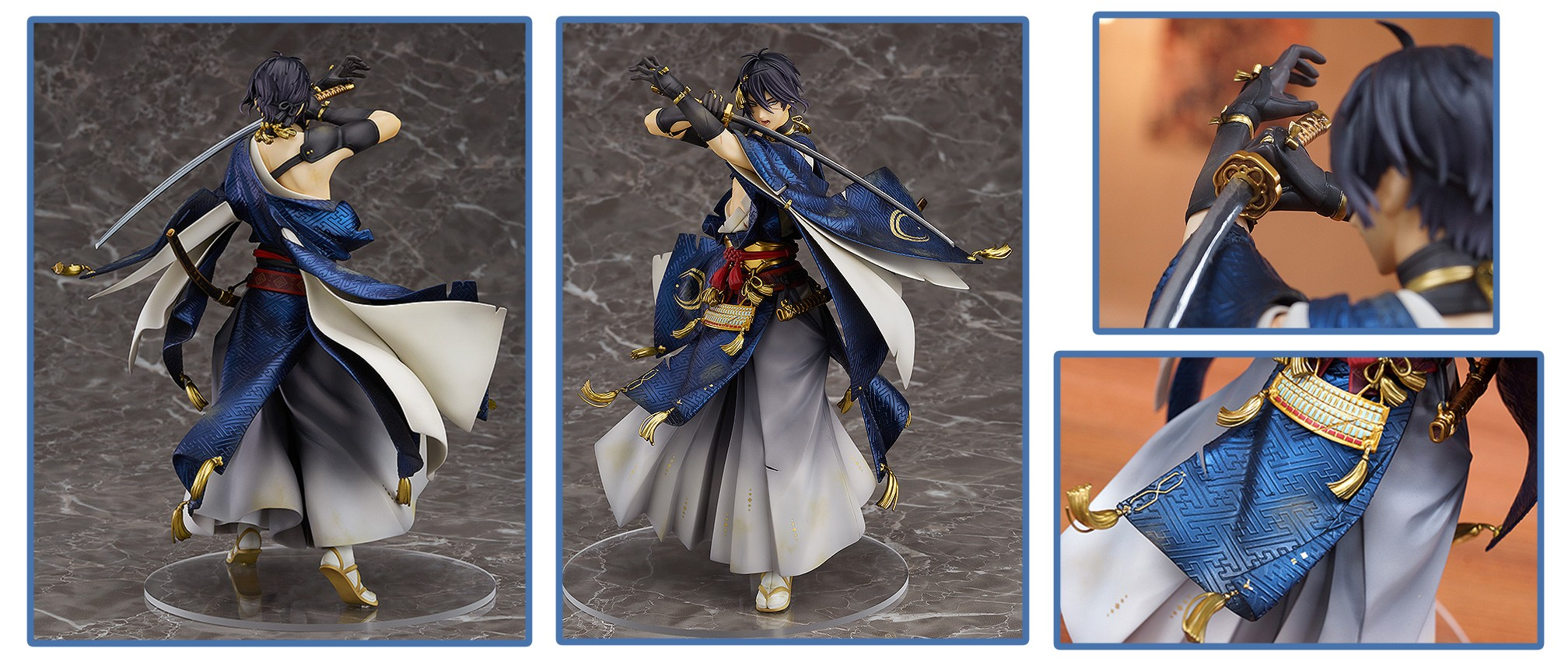"Orange Rouge – Touken Ranbu -Online- 1/8-scale Mikazuki Munechika ""Awakened ver."" Figure (April 2018)"