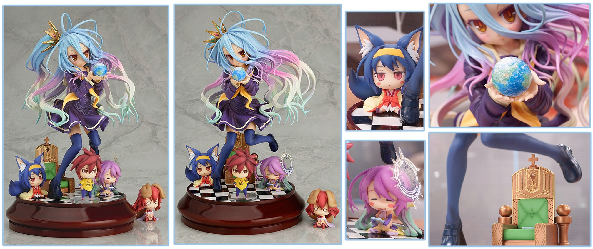 Phat Company – No Game No Life 1/7-scale Shiro Figure (March 2018 Re-release)