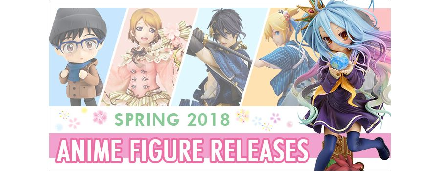 10 Fresh Anime Figure Releases to Own in Spring 2018