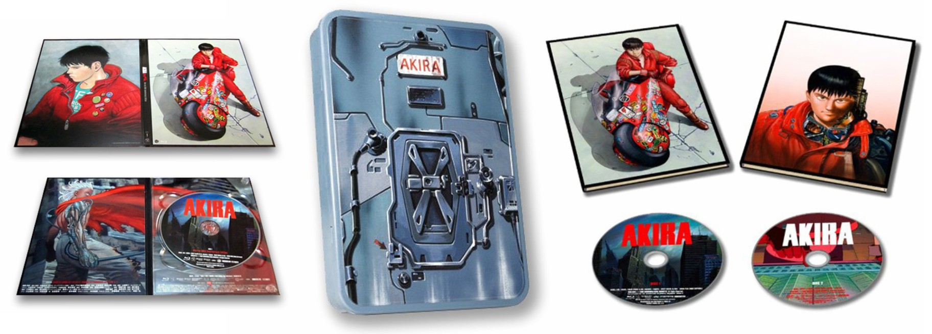 Akira 30th Anniversary Limited-Edition Blu-ray
