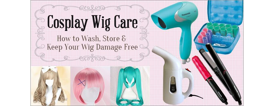 Cosplay Wig Care: How to Wash, Store, & Keep Your Wig Damage Free