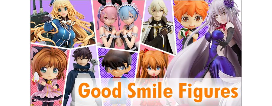 Good Smile Figures: 17 Fan-Favorite Series from GSC