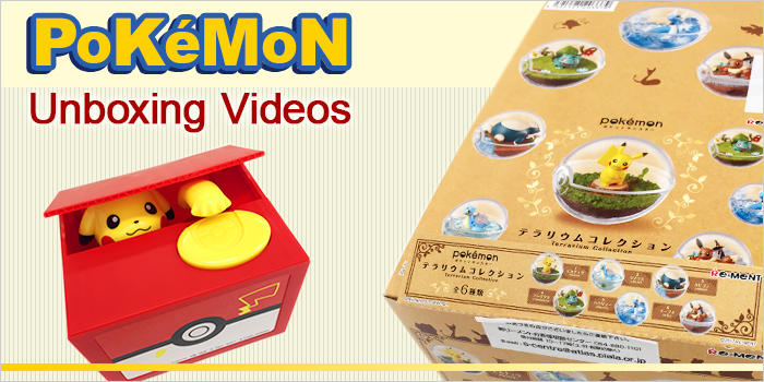Pokemon Unboxing Videos