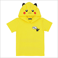 Pokemon Center Original Hooded T-shirt With Pikachu Ears