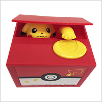 Pikachu Coin Bank