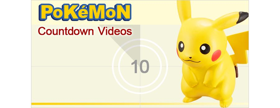 Pokemon Countdown Videos for Aspiring Pokemon Masters