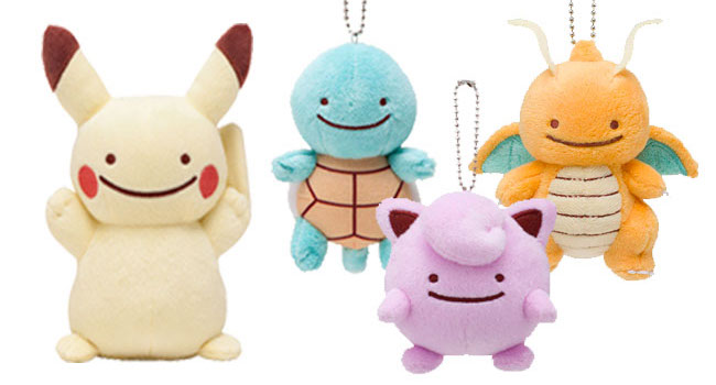 Ditto Transforms! Plush and Mascot Series